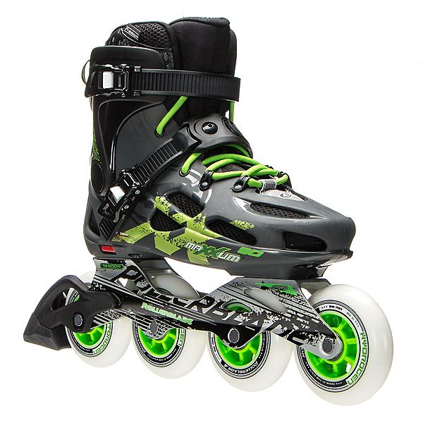 Rollerblade Maxxum 90 Urban Inline Skates 2017, Anthracite-Green, 600