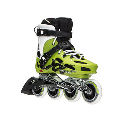Rollerblade Maxxum 84 Urban Inline Skates 2017, Acid Green-White, viewer