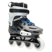 Rollerblade Twister Pro Urban Inline Skates, Anthracite-Blue, medium