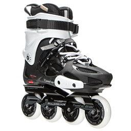 Rollerblade Twister 231 Urban Inline Skates, Black-White, 256