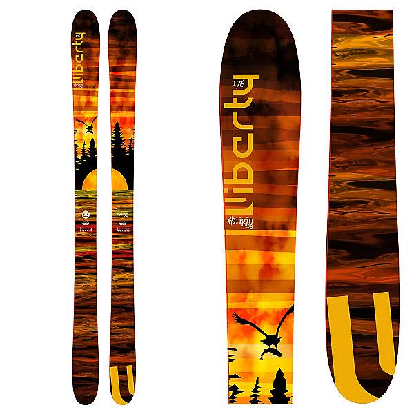 Liberty Skis Origin 96 Skis 2017, , 600