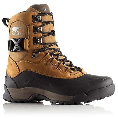 Sorel Paxson Tall Mens Boots, Buff-Black, viewer
