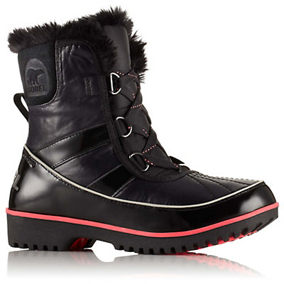 Sorel Tivoli II Nylon Womens Boots, Black, viewer
