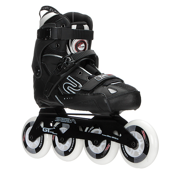 SEBA GT 100 Urban Inline Skates, Black, 600