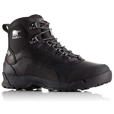 Sorel Paxson Outdry Mens Boots, Black-Shark, viewer