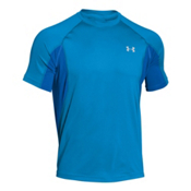 Under Armour Coolswitch Trail Short Sleeve Mens T-Shirt, Electric Blue-Glacier Gray, medium