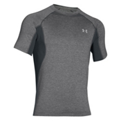 Under Armour Coolswitch Trail Short Sleeve Mens T-Shirt, Granite-Glacier Gray, medium
