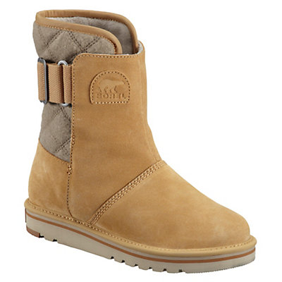 Sorel Newbie Suede Leather Womens Boots, Curry, viewer