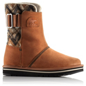 Sorel Newbie Chevron Womens Boots, Grizzly Bear, medium