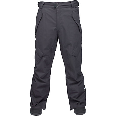 Ride Phinney Shell Mens Snowboard Pants, Black Olive Slub, viewer