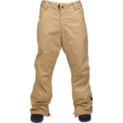 Ride Madrona Mens Snowboard Pants, Dark Khaki Herringbone, medium