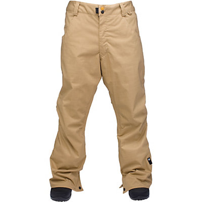 Ride Madrona Mens Snowboard Pants, Dark Khaki Herringbone, viewer
