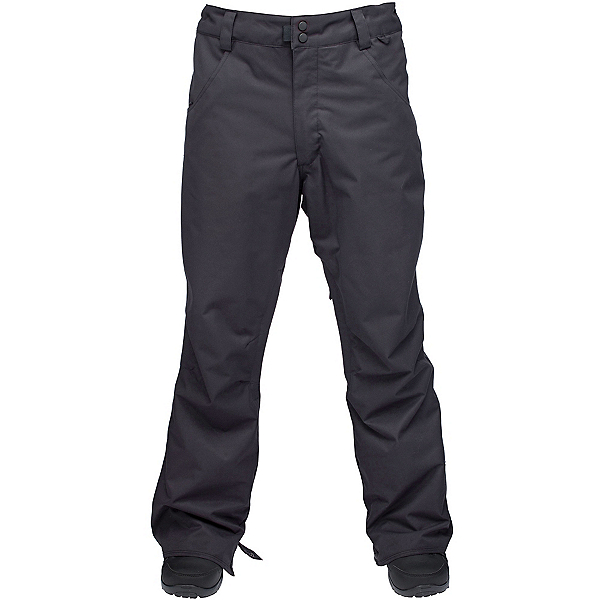 Ride Madrona Mens Snowboard Pants, Black Twill, 600