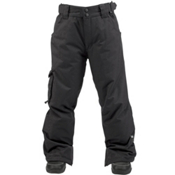 Ride Charger Kids Snowboard Pants, Black Twill, medium