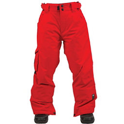 Ride Charger Kids Snowboard Pants, Red Rover Twill, 256