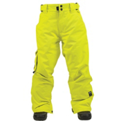 Ride Charger Kids Snowboard Pants, Limelight Twill, medium