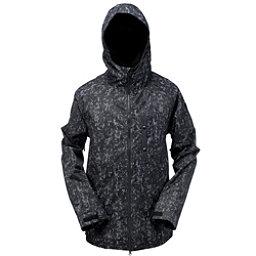 Ride Gatewood Mens Insulated Snowboard Jacket, Smoke Print Twill, 256