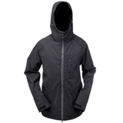 Ride Gatewood Mens Insulated Snowboard Jacket, Black Twill, medium