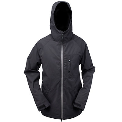 Ride Gatewood Mens Insulated Snowboard Jacket, Black Twill, viewer