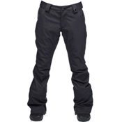 Ride Aurora Womens Snowboard Pants, Black Stretch Twill, medium