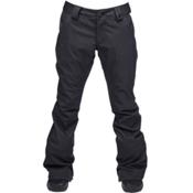 Ride Aurora Womens Snowboard Pants, Black Stretch Twill, medium