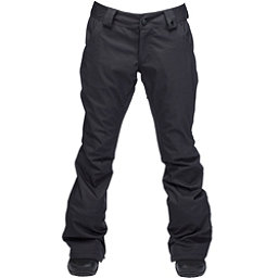 Ride Aurora Womens Snowboard Pants, Black Stretch Twill, 256