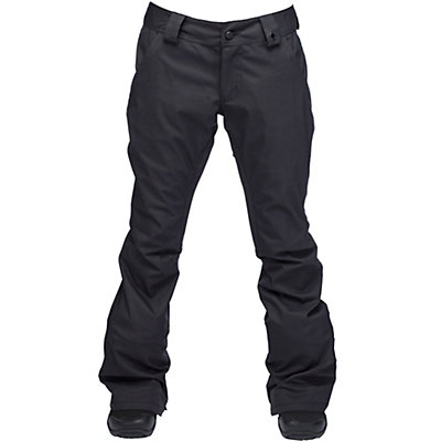 Ride Aurora Womens Snowboard Pants, Black Stretch Twill, viewer