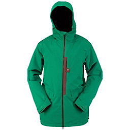 Ride Georgetown Mens Insulated Snowboard Jacket, Kelly Green Twill, 256