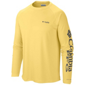 Columbia PFG Terminal Tackle Long Sleeve Mens Shirt, Sunlit-Grill, medium