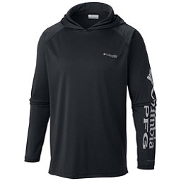 Columbia PFG Terminal Tackle Mens Hoodie, Black-Cool Grey, 256
