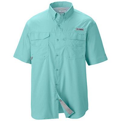 Columbia PFG Blood And Guts III Short Sleeve Shirt, Gulf Stream, viewer
