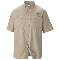 Columbia PFG Blood And Guts III Short Sleeve Mens Shirt, Fossil, 256