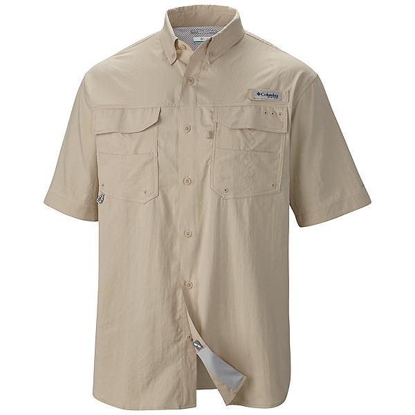 Columbia PFG Blood And Guts III Short Sleeve Mens Shirt, Fossil, 600