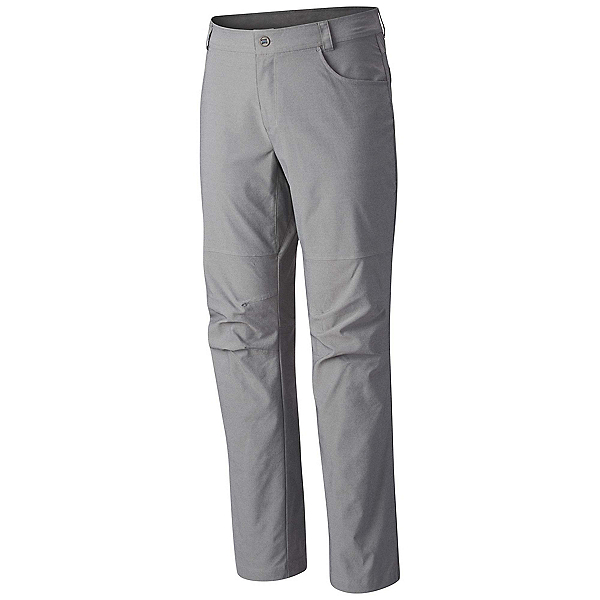 Columbia Pilsner Peak Mens Pants, Grey Ash, 600