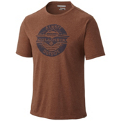 Columbia Trail Shaker Mens T-Shirt, Pony Heather, medium
