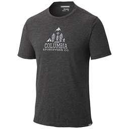 Columbia Trail Shaker Mens Mens T-Shirt, Shark Heather, 256
