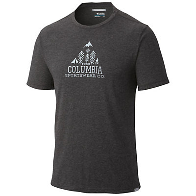 Columbia Trail Shaker Mens Mens T-Shirt, Pony Heather, viewer