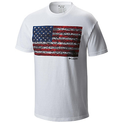 Columbia CSC Tree Flag T-Shirt, White, viewer