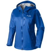 Columbia Evapouration Premium Womens Jacket, Blue Macaw, medium