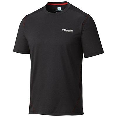 Columbia Titan Ice T-Shirt, Black Heather-Black, viewer