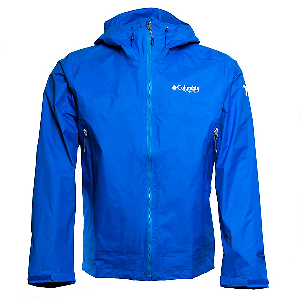 Columbia Tessellator Mens Jacket, Hyper Blue, 600