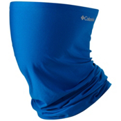 Columbia PFG Freezer Zero Neck Gaiter, Super Blue-Columbia Grey, medium