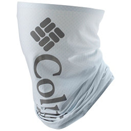 Columbia PFG Freezer Zero Neck Gaiter, White-Columbia Grey Pfg, 256