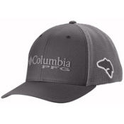 Columbia PFG Mesh Hat, Grill-Cool Grey-Bass, medium
