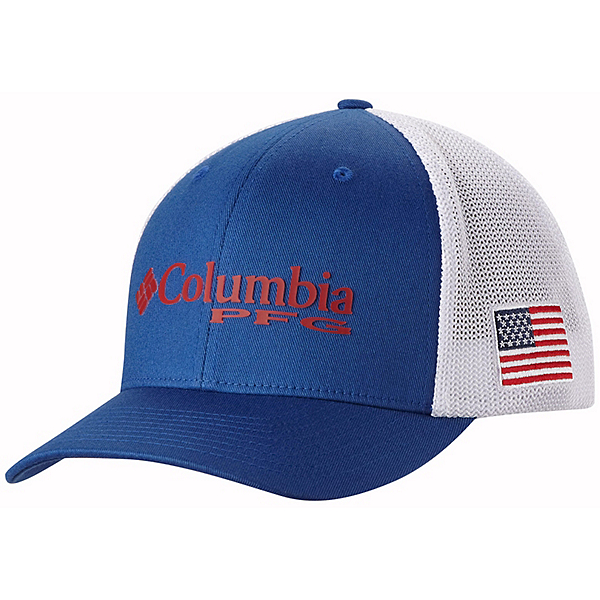 Columbia pfg mesh hat 2017 for Columbia fish flag hat