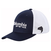 Columbia PFG Mesh Hat, Collegiate Navy-Bass, medium
