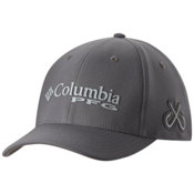 Columbia PFG Mesh Pique Hat, Titanium-Double Hook, medium