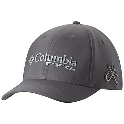 Columbia PFG Mesh Pique Hat, Titanium-Double Hook, viewer