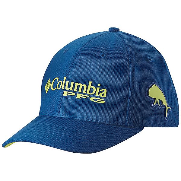 Columbia PFG Mesh Pique Hat, Marine Blue-Dorado, 600