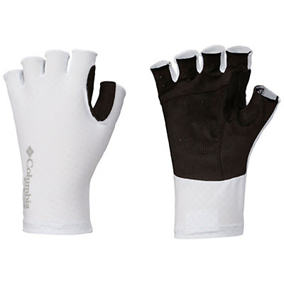 Columbia PFG Freezer Zero Fingerless Gloves, White-Columbia Grey Pfg, viewer